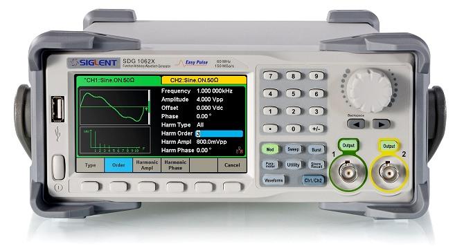 Siglent SDG1000X Serie SDG1032X SDG1062X 16kpoints 2Kanal DDS Funktionsgenerator