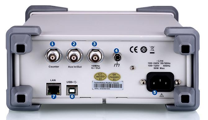 Siglent SDG1032X 30MHz 16kpoints 2Kanal DDS Funktionsgenerator schrag vorn seitlich