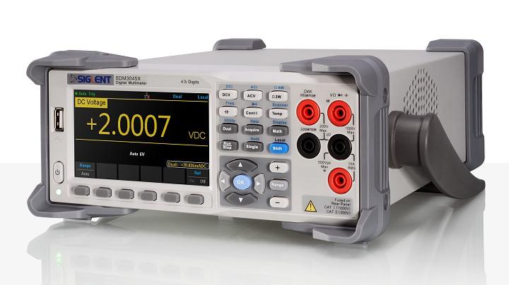 Siglent SDM3045X 60.000 Counts Tischmultimeter 150Messungen/s USB LAN 4.3