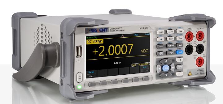 Siglent SDM3045 4 1/2 Stellen Tischmultimeter 100kHz TRMS SCPI USB LAN PC-Software