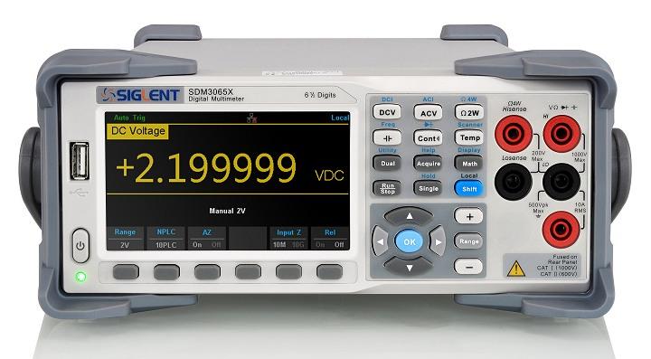 Siglent SDM3065X 6 1/2 Tischmultimeter 300kHz TRMS SCPI USB LAN PC-Software