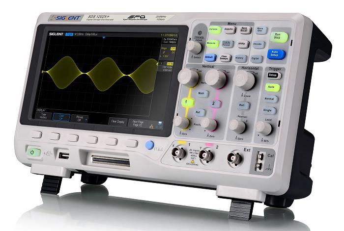 Siglent SDS1202X+ SDS1000X+ Serie Oszilloskop