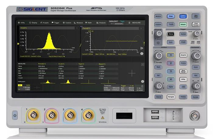 Siglent SDS2354X Pus SDS2000X Plus  SPO Digital Speicher Oszilloskop