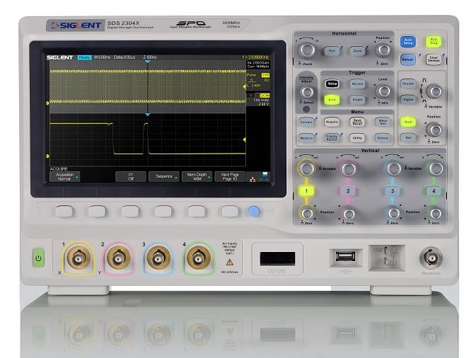 Siglent SDS2304 SPO Digital Speicher Oszilloskop