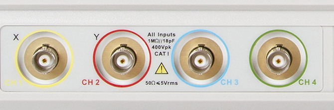 Siglent SDS2304 SDS2204 SDS2104 4CH SPO Digital Speicher Oszilloskop Display Tasten BNC