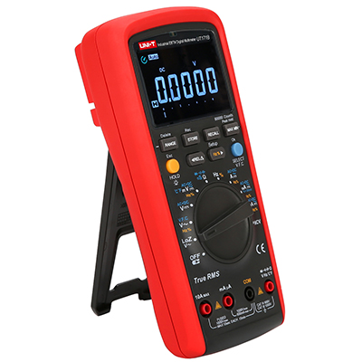 uni-t ut171b 60.000 Counts TRMS Multimeter mit Aufklappständer