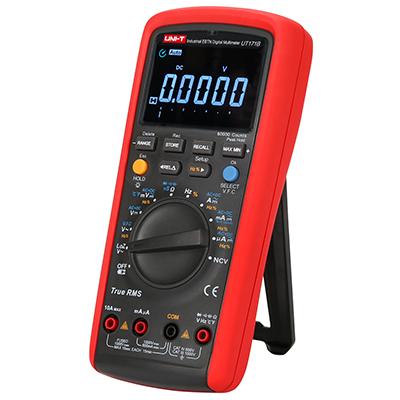 uni-t ut171b 60.000 Counts TRMS Multimeter mit EBTN Display mit Klappständer