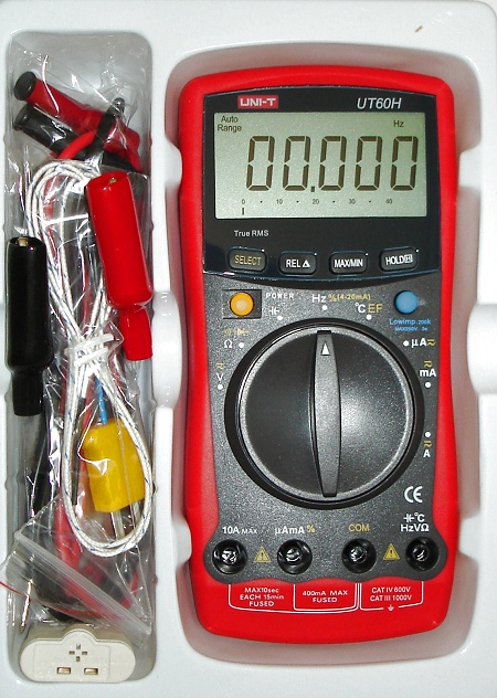 uni-t ut60h 40.000digits multimeter