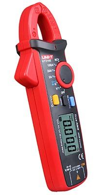Uni-T UT210E seitlich DC AC TRMS Strom Zangenmultimeter 2000 Counts Zangenöffnung 17mm mit N.C.V VFC Display Backlight zuschaltbar