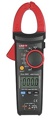 Uni-T UT213C 30mm  4000 Counts 30mm DC AC TRMS Strom Zangenmultimeter groß NCV VFC Diasplay Beleuchtung, mit Zangen Zusatzled
