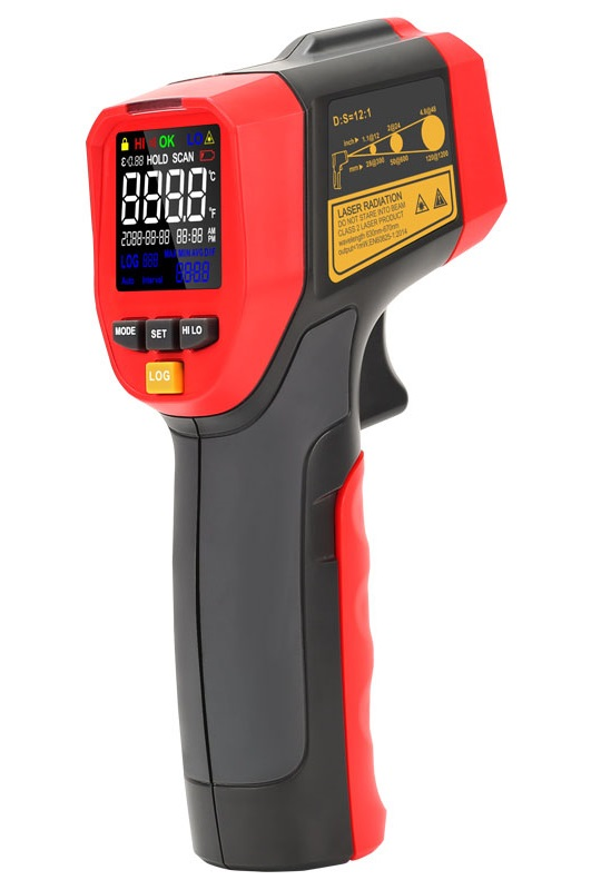 Uni-T UT301C+ 12 to 1 -32..600 °C