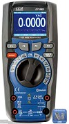 CEM DT-989 50.000 Counts TRMS Multimeter mit TFT Display und Bluetooth IO