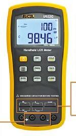 neue Eucol LCR Meter U822C bis 100kHz, U822A bis 10kHz