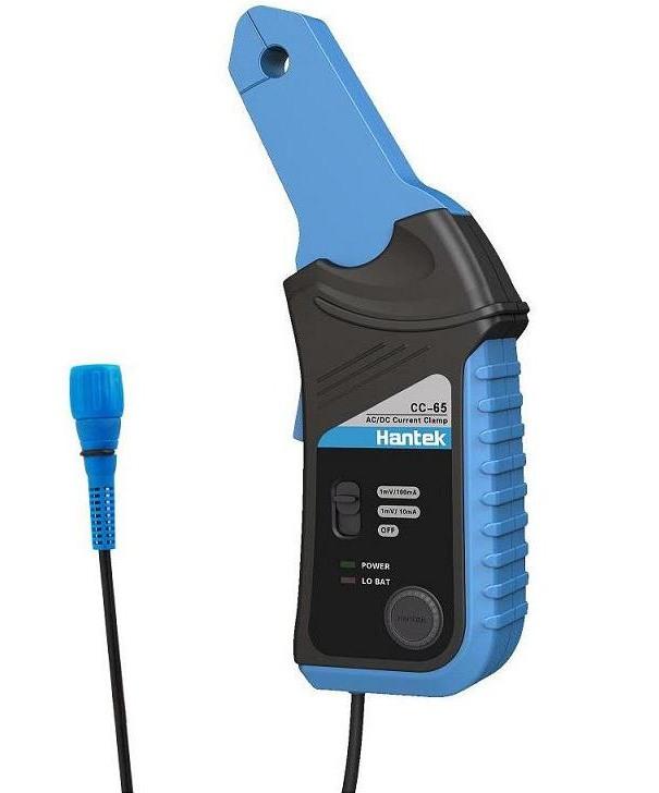 Hantek CC-65 AC DC Stromzangen Adapter bis 65A 1mV/10mA oder 1mV/100mA AC bis 20kHz