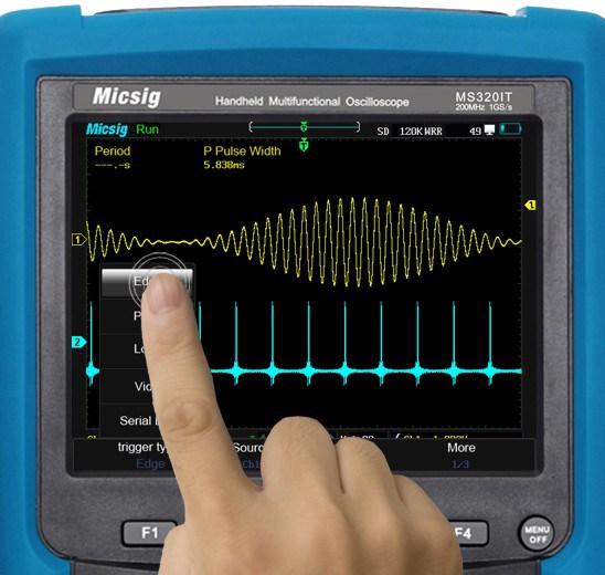 micsig ms310it mit Touchscreen