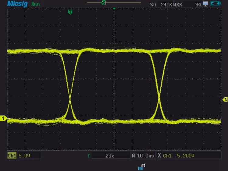 Micsig MS310IT MS320IT Scopemeter das Display