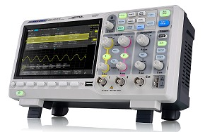 Siglent SDS1202X-E 200MHz 100.000wrfms 7