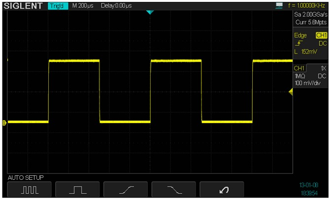 Siglent SDS2304 SPO Digital Speicher Oszilloskop Autoset