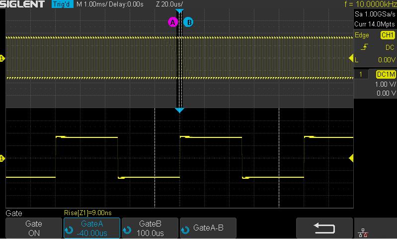 Messfunktionen Siglent SDS1104X-E, SDS1204X-E 200MHz 4CH Digital Speicher Oszilloskop 1GSA 14Mpoints 100.000wrfms seq. Speicher