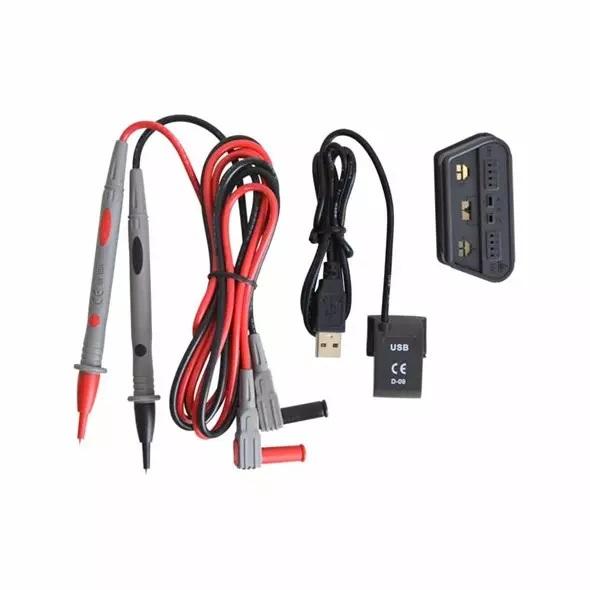 Uni-T UT161E 2200Digits TRMS USB Interface Backlight Rückseite mit IO