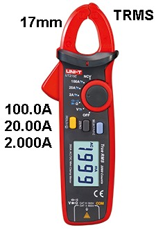 Uni-T UT210E TRMS Stromzangen-Multimeter Digital Clamp Multimeter