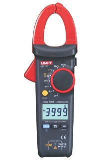Uni-T UT213C 4000 Counts TRMS Stromzangen-Multimeter Digital Clamp Multimeter