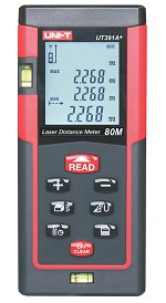 uni-t ut391a+ laser distance meter 0.1to80m