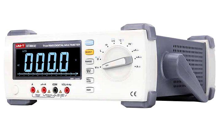 Uni-T UT8803E Tischmultimeter mit EBTN Display 100kHz TRMS 6000 Counts USB PC-Software