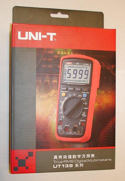 Uni-T UT139C Verpackung