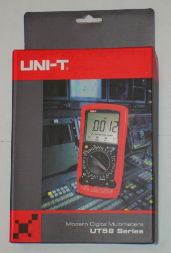 Uni-T UT58E die Uni-T Verpackung