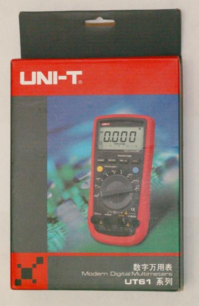 UT61C packaging Geräteverpackung