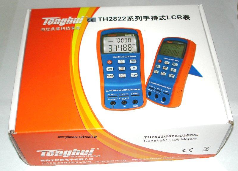 Tonghui TH2822 TH2822A TH2822C die Verpackung